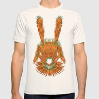 Year of The Rabbit Mens Fitted Tee Natural SMALL