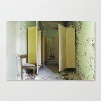 Chernobyl - вбирал… Canvas Print