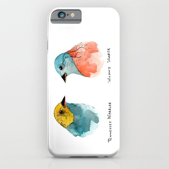 TWO WARBLERS iPhone & iPod Case