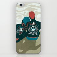iPhone & iPod Skin featuring Love You / Love Me - Us … by Victor Beuren