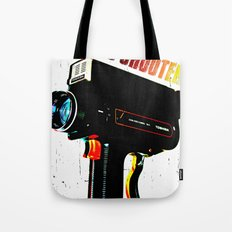 Retro Shooter Tote Bag