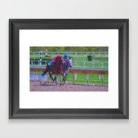 And The Winner Is.......… Framed Art Print