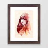 A Piece Of Happiness Framed Art Print