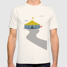 Circus Mens Fitted Tee Natural SMALL