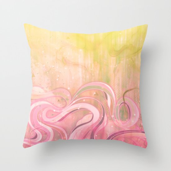 Cascade II Throw Pillow