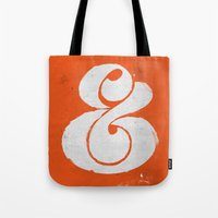 Ampersand Tote Bag
