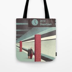 Day Trippers #3 - Waiting Tote Bag