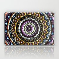 Mandala In Relief Laptop & iPad Skin