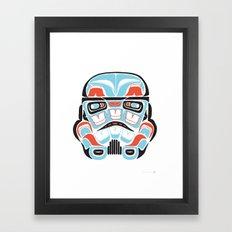 Skull Warrior - Alliance… Framed Art Print