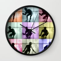 Body Language 28 Wall Clock