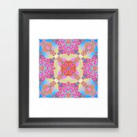 Mix&Match  Spring Love 0… Framed Art Print
