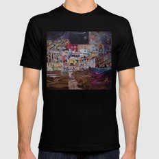 Structures Mens Fitted Tee SMALL Black