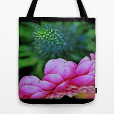 Seduction in a garden Tote Bag