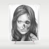 Thirteen Olivia Wilde Shower Curtain