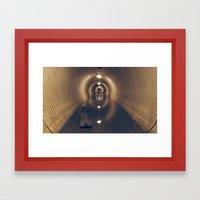 Tunnel of Love Framed Art Print