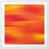 Heat Wave  Art Print