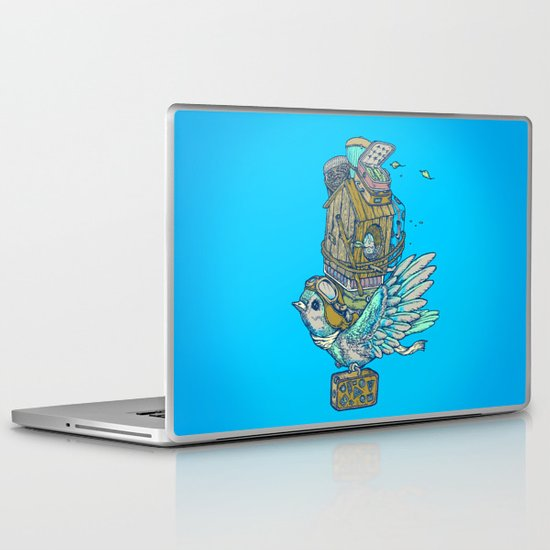 Bird Migration Laptop & iPad Skin