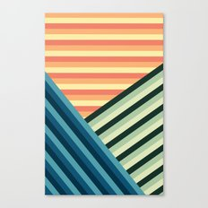 Stripes Are Us Canvas Print