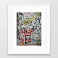 Berlin Wall Framed Art Print