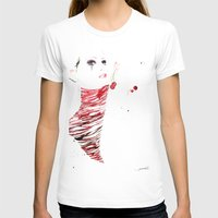 untitled Womens Fitted Tee White SMALL