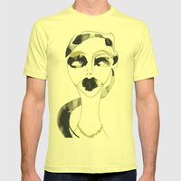 A Bystander Mens Fitted Tee Lemon SMALL
