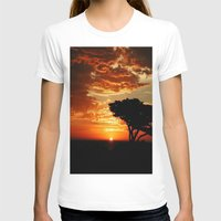 dragon T-shirts featuring Firey Dragon  by Chris' Landscape Images & Designs