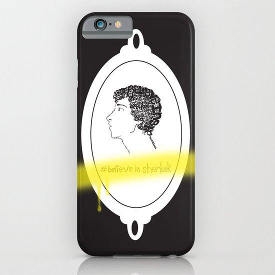 Believe in Sherlock iPhone & iPod Case
