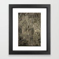 ballroom Framed Art Print