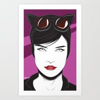 Nagel Style Cat Burglar Art Print