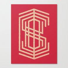 Cisko Mixed Letter Canvas Print