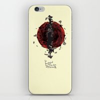 You, Contract And Expand… iPhone & iPod Skin