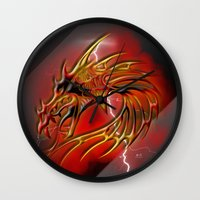 Dragon One Wall Clock