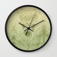 The Giant Winged Lion Wall Clock
