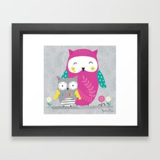 Owl Lover  Framed Art Print