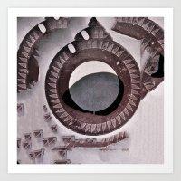 Archeology Of The Future… Art Print