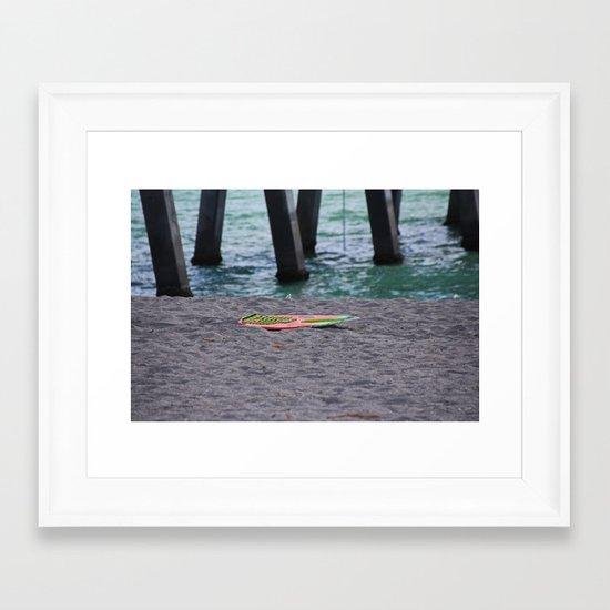 Make Me Believe Framed Art Print