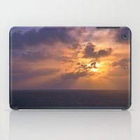 Sunrise At Sea iPad Case