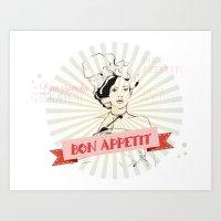 Bon Appetite Art Print