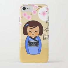 Kokeshi Mizuki iPhone 7 Slim Case