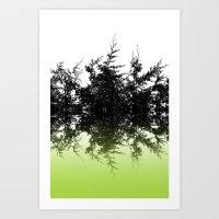 Conifer Lime Art Print