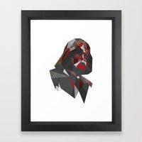 Dark Lord (variant) Framed Art Print