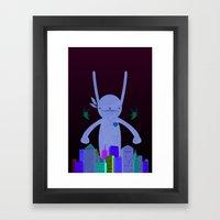 MONSTAA Framed Art Print
