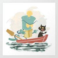Two By Sea Art Print