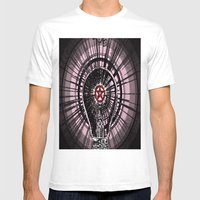 Devil Light Mens Fitted Tee White SMALL