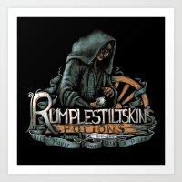 Rumplestiltskin Art Print