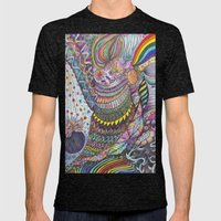 Flower Bomb Mens Fitted Tee Tri-Black SMALL
