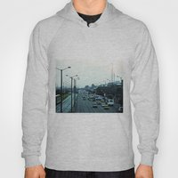 Streets, cars and people. Hoody