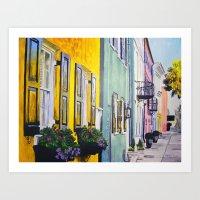 Row of Color Art Print
