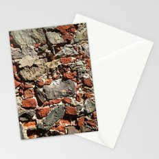 Rock Wall, Pattern, Virgin Islands, West Indian Stationery Cards