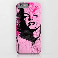 iPhone & iPod Case featuring Marilyn  by Jason Michael